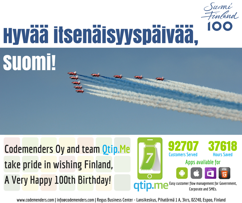 Happy birthday, Finland